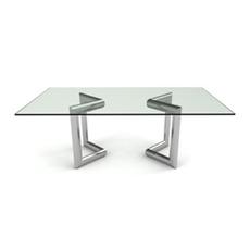 Bellini Modern Living Clara Rectangular Dining Table Clara RECT DT