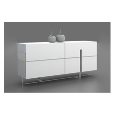 collins collection high gloss white lacquer dresser by casabianca home cb 1302 d casabianca furniture dolce collection lacquer dresser white