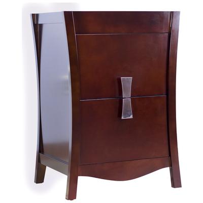 03 in d modern birch wood veneer vanity base only in coffee ai 18200