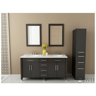 Best Deal Jwh Living Rana Bathroom Vanity In Espresso Jwh 9025 Jwh 9025