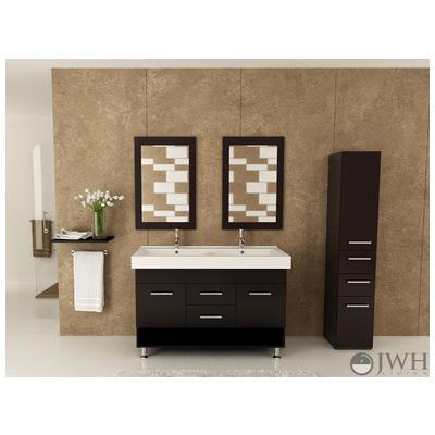 Best Deal Jwh Living Rigel Bathroom Vanity In Espresso Jwh 9120