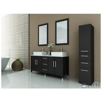 Best Deal Jwh Living Sirius Stone Bathroom Vanity In Espresso Jwh 9128
