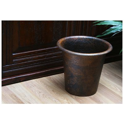 Sierra copper sierra copper waste basket - Copper wastebasket ...