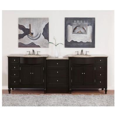 Best Deal Silkroad Exclusive Double 95 Bathroom Vanity Hyp 0902 95
