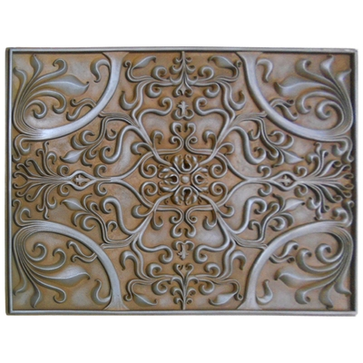 Soci Metal Resins Tile Plaque SSGR 1377. Kitchen Backsplash Medallion Or  Bathroom Wall Accent