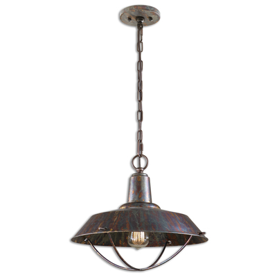 Uttermost arcada 1 light bronze pendant 21974 10 off coupon mozeypictures Image collections