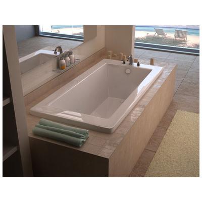 Venzi Villa 30 X 60 Rectangular Soaking Bathtub With Reversible Drain