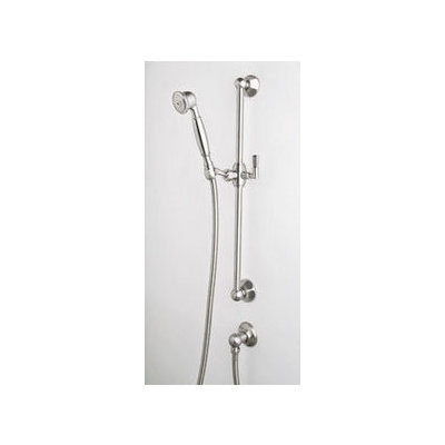 Rohl 1330 Hand Showers Complete Shower Set With Slide Bar 59 Hose And Wall Supply Elbow From The Palladian Col