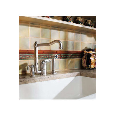 from the rohl country kitchen collection porcelain lever handle