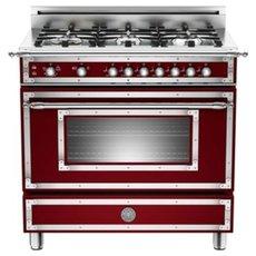 Bertazzoni 36 6 Burner, Gas Oven , Heritage Series , Ranges , Bertazzoni  HER366GAS