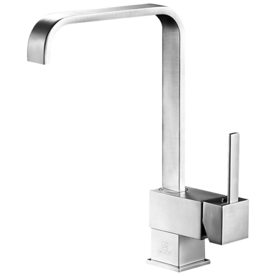 Anzzi KF-AZ220BN Sabre Single-Handle Standard Kitchen Faucet in Brushed  Nickel