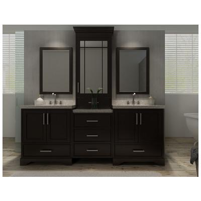 Best Deal Ariel Stafford 85 Double Sink Bathroom Vanity Set In