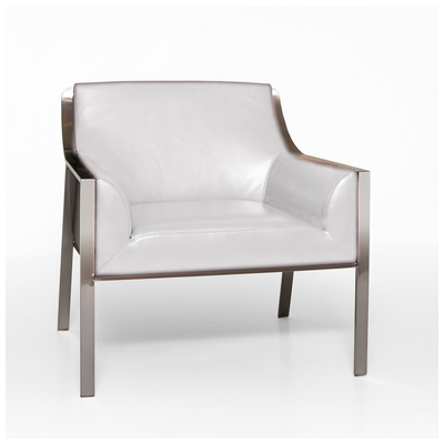 Outstanding Bellini Modern Living Malibu Accent Arm Chair White Malibu White Caraccident5 Cool Chair Designs And Ideas Caraccident5Info