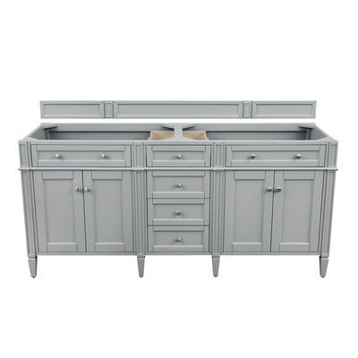 "Best Deal - James Martin Brittany 72"" Double Bathroom Vanity Cabinet, Urban Gray 650-V72-UGR"