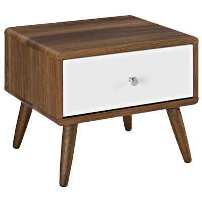 Modway Furniture Mod 5731 Wal Whi Modway Furniture Mod 5731 Wal