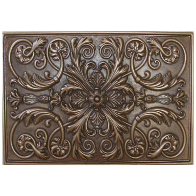 Soci Tile SSGB 1221, Metallic Resin Plaque. Kitchen Backsplash Medallion Or  Bathroom Wall Accent