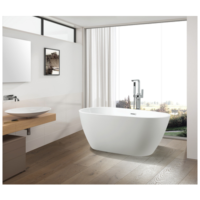 Vanity Art Va6515 L Vanity Art Freestanding Bathtub Drain W