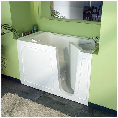 ... Right Drain White Whirlpool U0026 Air Jetted Wheelchair Accessible Bathtub  + $3,727.28