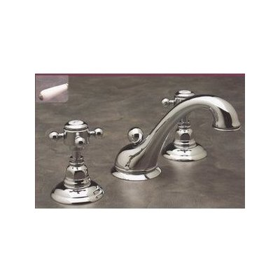 Beau Rohl, A1408LP, Bathroom Faucets, Rohl A1408Lp Double Handle Widespread Lavatory  Faucet With Porcelain Lever Handles From The Country Bath Series