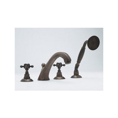 Rohl, A1804LC, Deck Mount Amp Roman Tub Faucets, Rohl A1804Lc Double ...