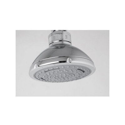 Rohl I00131 Shower Heads Contemporary Modern 3 Function Rain Flow Showerhead From The Series