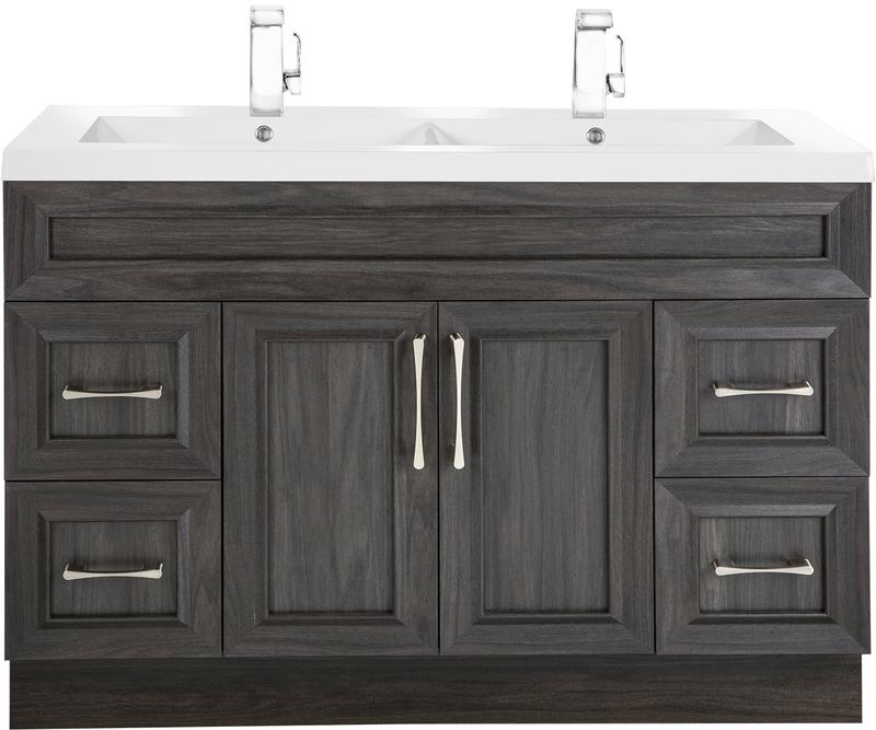Cutler Kitchen And Bath Karoo Ash 48, Transitional Bathroom Vanities