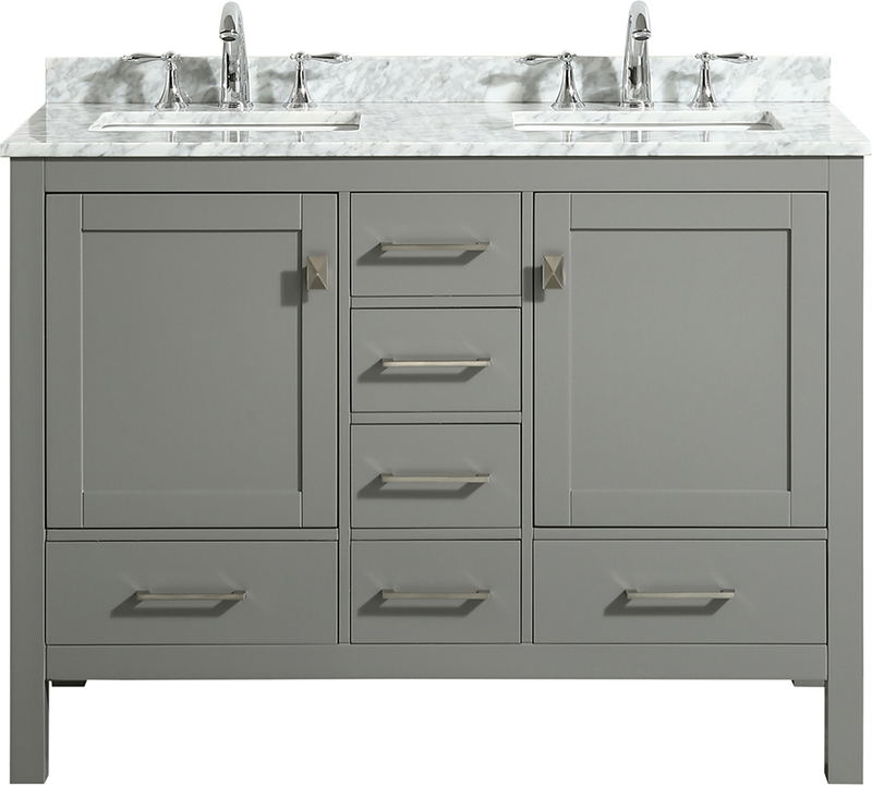Best Deal Eviva London 48 X 18, Bathroom Vanity 48 X 18