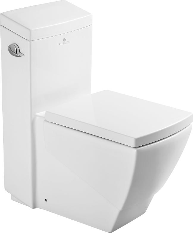 Fresca, FTL2336, Toilets, Fresca Apus One Piece Square Toilet W Soft ...