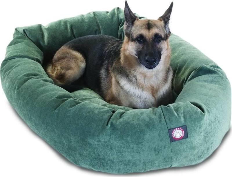 Pleasant 52 Azure Villa Collection Micro Velvet Bagel Pet Bed By Creativecarmelina Interior Chair Design Creativecarmelinacom