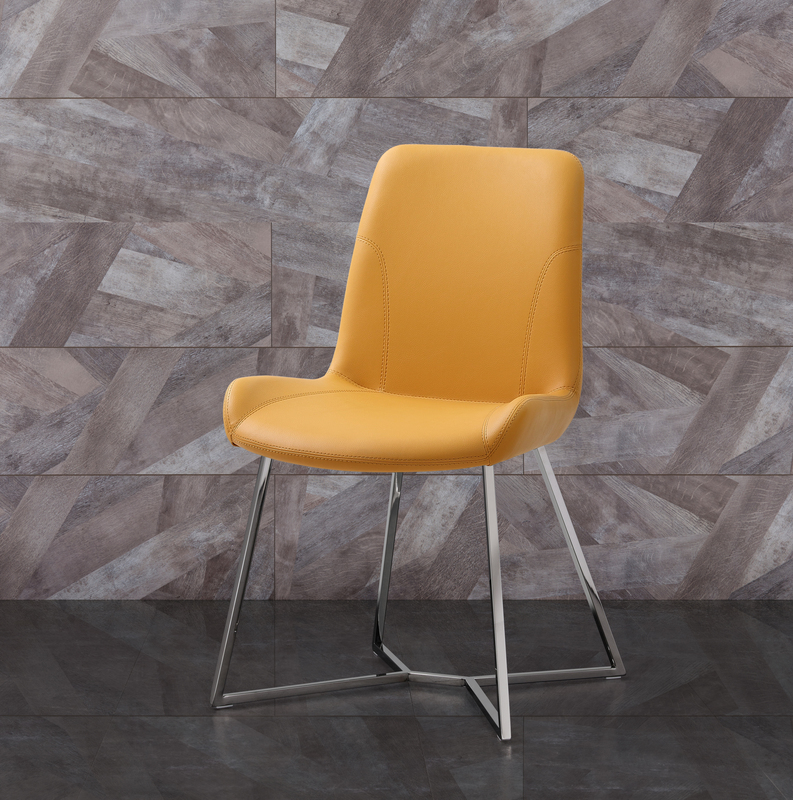Surprising Whiteline Dc1480 Ylw Dining Room Chairs Whiteline Imports Gmtry Best Dining Table And Chair Ideas Images Gmtryco