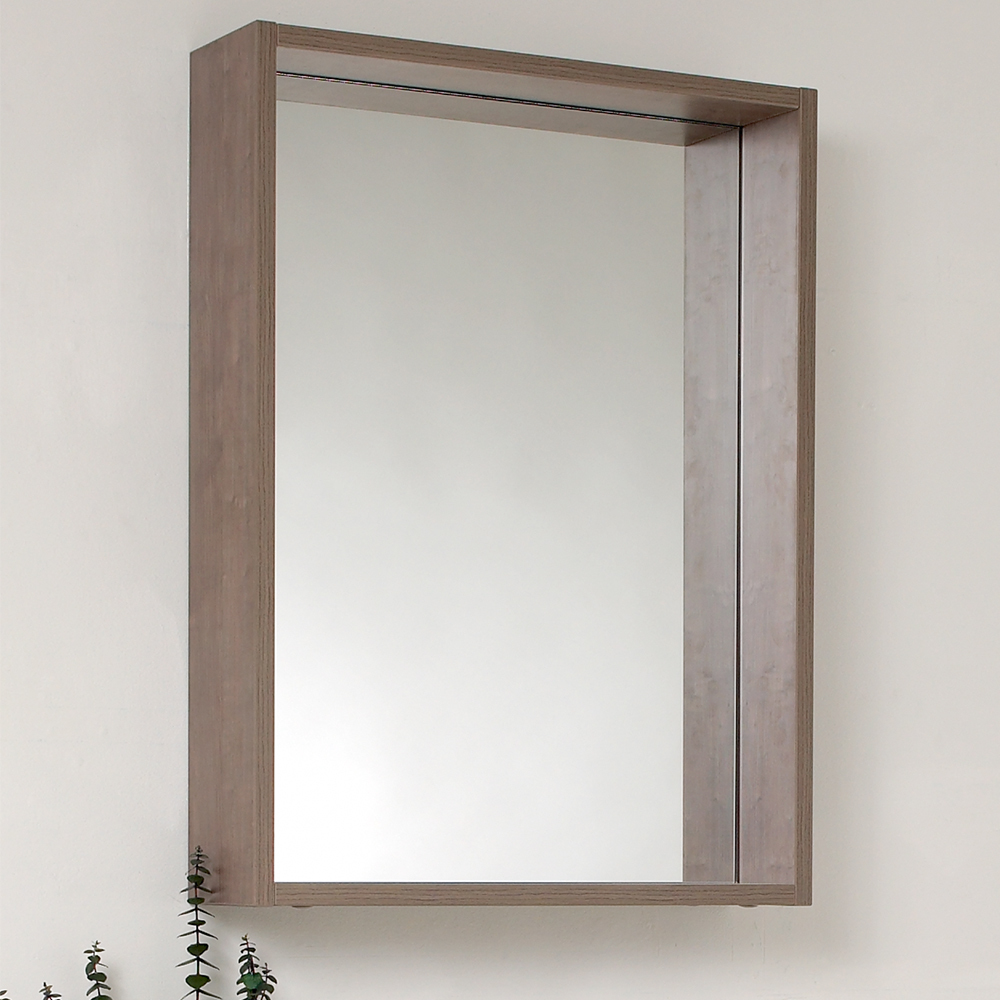 Fresca, FMR8070GO, Bathroom Mirrors, Fresca Potenza 21 Gray Oak ...
