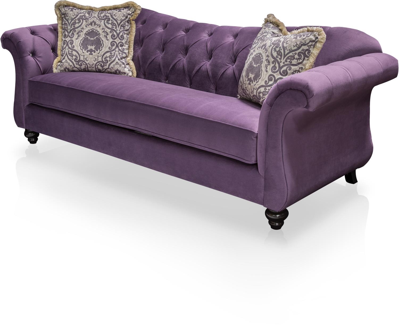 Furniture Of America, IDF 2222 SF, Sofas And Loveseat, Furniture Of America  Agatha Traditional Style Tufted Sofa Idf 2222 Sf
