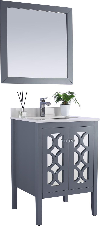 Best Deal - Laviva Mediterraneo - 24 - Grey Bathroom Vanity Cabinet ...