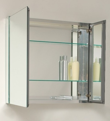 Eviva Evmr750 26gl Storage Cabinets Mirror Medicine Cabinet 30 Inches No Light